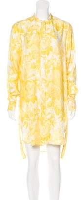 Stella McCartney Long Sleeve Midi Dress