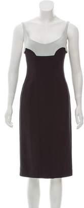 Narciso Rodriguez Sleeveless Sheath Dress