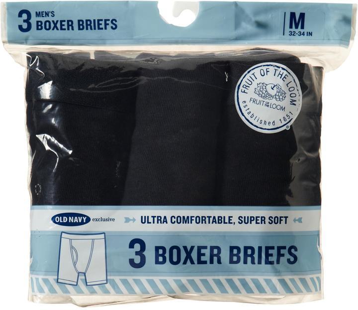 Fruit of the Loom Men's Boxer-Brief 3-Packs