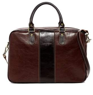 Persaman New York Salvatore Colorblock Italian Leather Briefcase