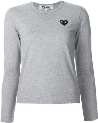 Comme des Garcons chest patch longsleeved T-shirt