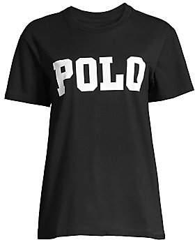 Polo Ralph Lauren Women's Big Logo Graphic Tee