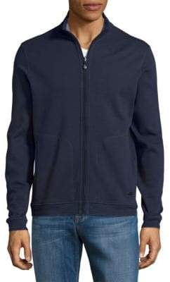 HUGO BOSS Fossa Zip Up Sweater