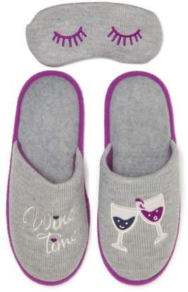 Dearfoams Women's Novelty Scuff Slippers
