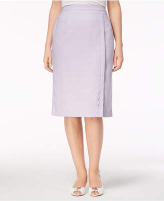 Alfred Dunner Roman Holiday Embellished Pencil Skirt