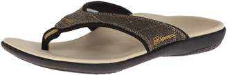Spenco Women's Yumi Canvas Flip Flop