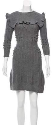 Philosophy di Lorenzo Serafini Wool Sweater Dress