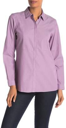 Foxcroft Charlotte Seamed Button Down Shirt