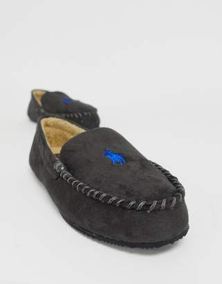 Ralph Lauren Dezi Moccasin Slippers