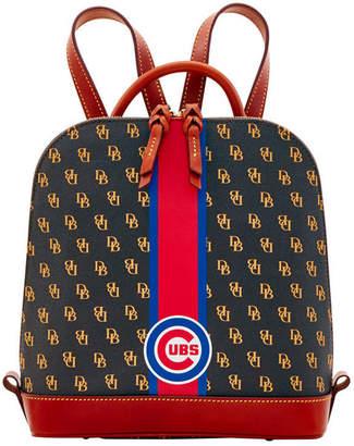 Dooney & Bourke Chicago Cubs Zip Pod Stadium Signature Backpack