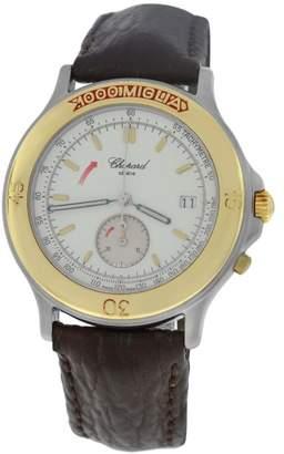 Chopard 1000 Mille Miglia 8162 Stainless Steel & 18K Yellow Gold Quartz 37mm Mens Watch