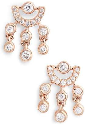 Lulu Dana Rebecca Designs Jack Diamond Drop Earrings