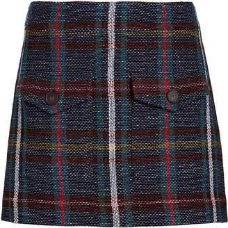 Veronica Beard Lucy Rustic Plaid Mini Skirt