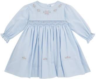 Sarah Louise Embroidered Smock Dress