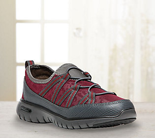 Propet Slip-on Walking Sneakers - TravelLite Ghillie $33 thestylecure.com