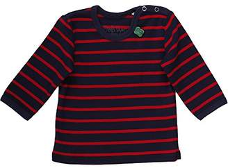 Green Cotton Fred's World by Baby Stripe l/Sl T Baby T-Shirt