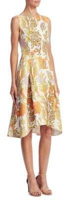 Peter Pilotto Cady Metallic Dress