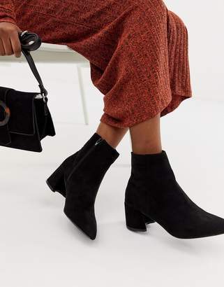 Park Lane Block Heel Ankle Boots