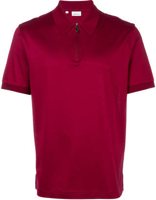 Brioni zipped collar polo shirt