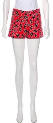 Miu Miu Mid-Rise Mini Shorts