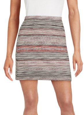 Textured A-Line Skirt $78 thestylecure.com