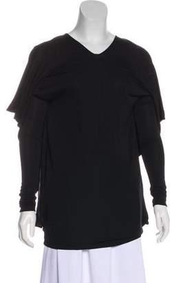 Maison Margiela Asymmetrical Long Sleeve Tunic