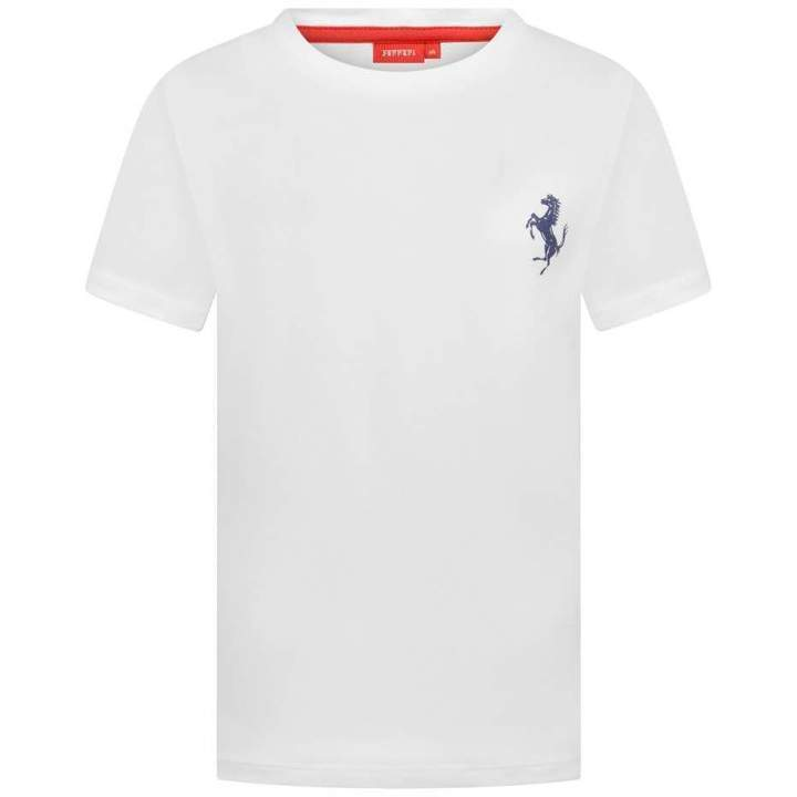 FerrariBoys White Logo Top