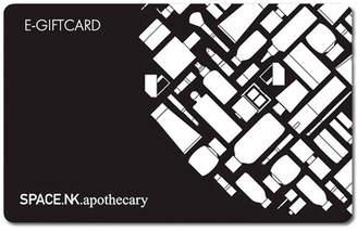 SpaceNK E Card E-Gift Card