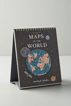 Rifle Paper Co. Maps Desk Calendar