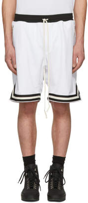 Fear Of God SSENSE Exclusive White Mesh Drop Shorts