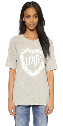 Wildfox Wife T-Shirt $68 thestylecure.com