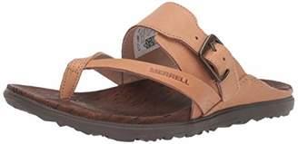 Merrell Women's Around Town Luxe BCKL Thong/ Shoe,9 M US