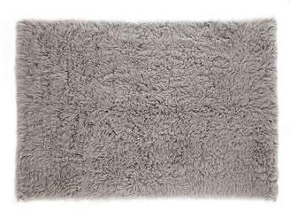 One Kings Lane Flokati Shag Rug - Natural Gray