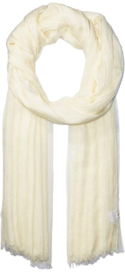 Echo Design - Solid Crinkle Wrap Scarf Scarves