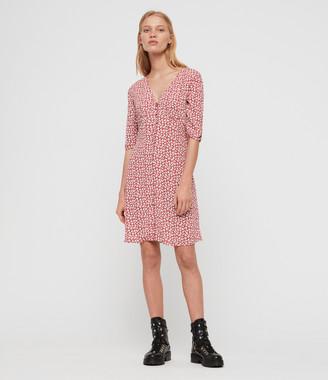 AllSaints Kota Scatter Dress