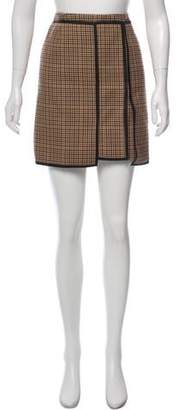 Balenciaga Wool Mini Skirt