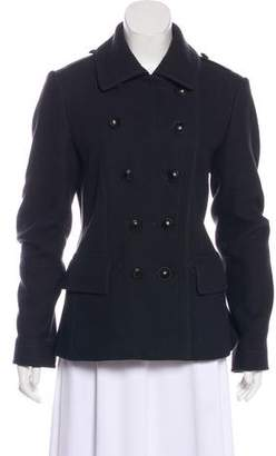 Burberry Wool Double-Breasted Jacket