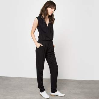 La Redoute Collections Short-Sleeved Jumpsuit