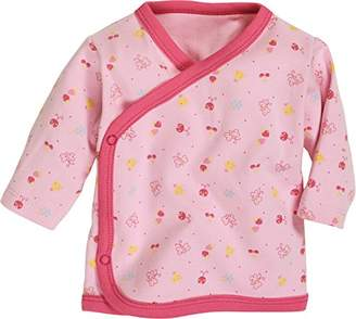 Schnizler Baby-Girls Wrap-Around Shirt Long Sleeve Allover Sweatshirt,(Manufacturer Size:50)