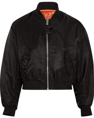 Schott Shell Bomber Jacket - Black