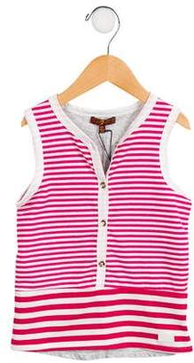 7 For All Mankind Girls' Striped Sleeveless Top w/ Tags