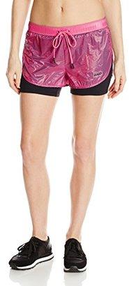 Juicy Couture Black Label Women's Sport Sheer Nylon Short $67.25 thestylecure.com