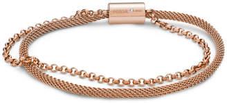 Fossil Rose Gold-Tone Steel Bracelet