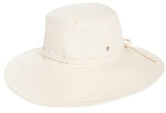 Women's Helen Kaminski Breeja Wide Brim Bucket Hat - Ivory $135 thestylecure.com
