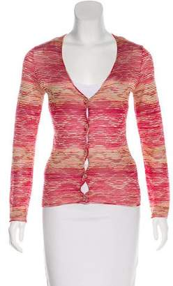 Missoni Knit Button-Up Cardigan
