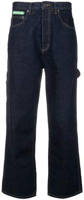 Marc Jacobs wide leg denim trousers