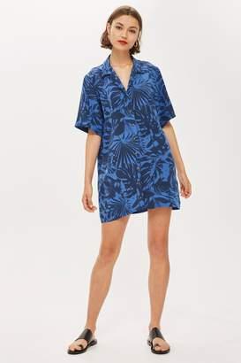 Topshop Palm Bowling Dress by Boutique