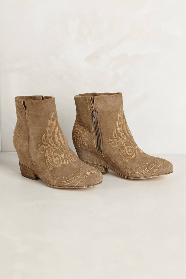 Anthropologie Phoenix Ankle Boots