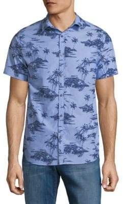 Superdry Printed Cotton Button-Down Shirt