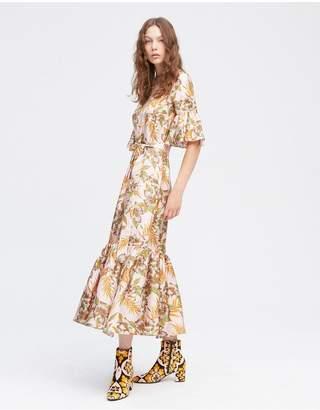 La Doublej Olive Curly Swing Dress